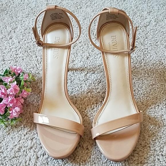 83a44bde647 David s Bridal Shoes - David s Bridal Larissa Heel Sandals